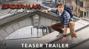 'Spider-Man: Far From Home' Teaser Trailer