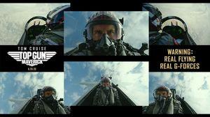 'Top Gun: Maverick' Real Flying. Real G-Forces. Pure Adrenal