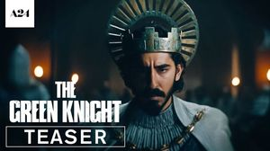 The Green Knight starring Dev Patel, Alicia Vikander, and Jo