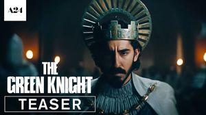 The Green Knight starring Dev Patel, Alicia Vikander, and Jo