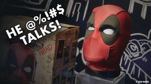 Hasbro's Deadpool Head Talks