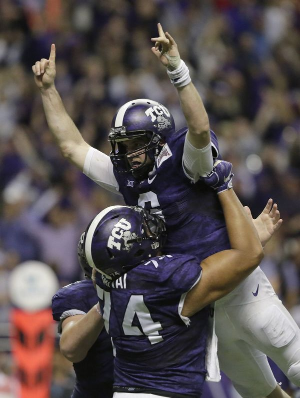 Disney is Pursuing Film Rights About TCU's Heroic Comeback