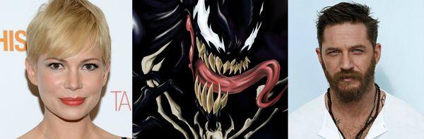 Michelle Williams in talks to join Tom Hardy in Sony's 'Venom'