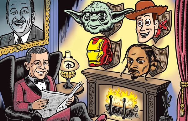 Bob Iger Discusses 'Star Wars', James Gunn and Roseanne, and Marvel