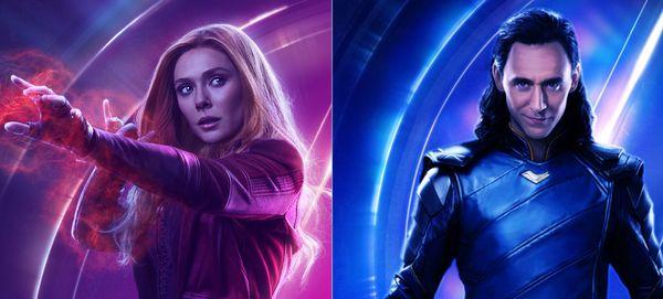 Elizabeth Olsen and Tom Hiddleston will headline Marvel's newest TV series for Disney's streaming service