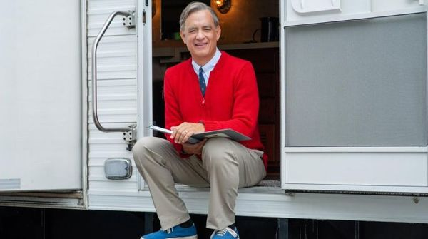 First look at Tom Hanks as Fred Rogers in Sony's 'You Are My Friend'