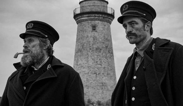 Robert Pattinson and Willem Dafoe lose their shit in 'The Lighthouse' (TIFF review)